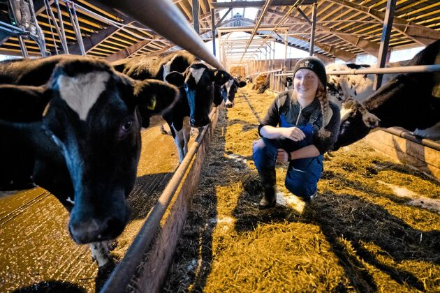 – Jag vill hinna prata med folk och sprida kunskap, säger Malin Gustavsson, som arrangerar ett så kallat ko-insläpp den 21 september.