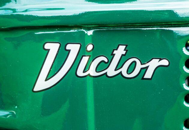 I traktorvärlden är märket Victor legendariskt.