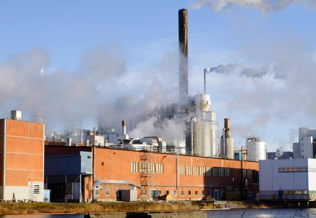 Den minskade vinsten beror mycket på ett planerat underhållsarbete vid Iggesunds massa- och kartongbruk i Hälsingland.