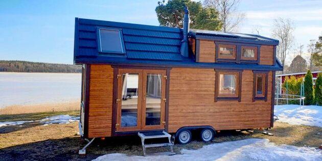 """""""Tiny house""""-trenden allt mer attraktiv för miljömedvetna svenskar"""