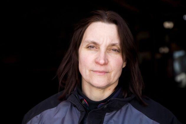 Christina Winblad fokuserar på volym och kostnad.