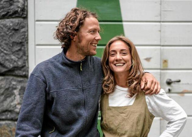 """Klara och Axel gör hyllad cider: """"Vi letar efter vilda träd och gamla odlingar"""""""