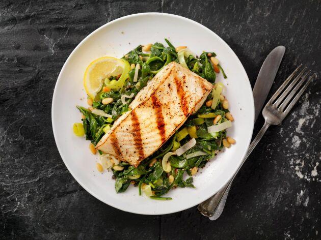 Fisk, en av favoriterna när det gäller vardagsmaten.