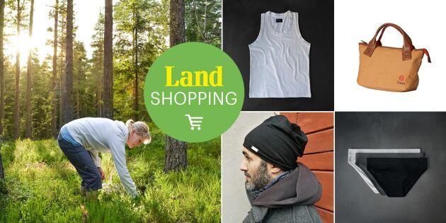 Smart klädd i svenskt trä – 20% rabatt på linne just nu!