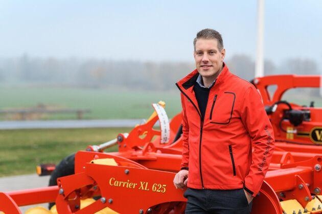 Henrik Gilstring, 35, rekryteras inom ägarfamiljen och blir därmed den tredje generationen som leder familjeföretaget.