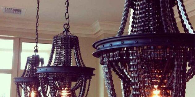 Pampig kedjereaktion med snygga lampor!