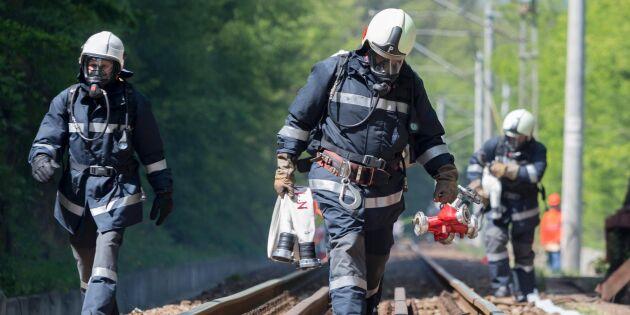 """Kritik mot tåg: """"Kan inte åka runt och spruta eld"""""""