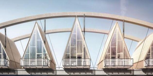 Unikt vildmarkshotell ska byggas på bron över Vindelälven