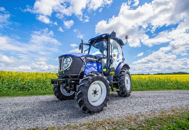 Kompakttraktorn Lovol 504 har tagit tillverkaren upp på tio-i-topp listan.