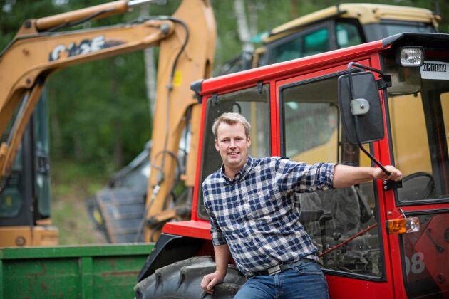 Tack vare ett grävuppdrag som Jonas fick kom de i kontakt med gårdens förre ägare.