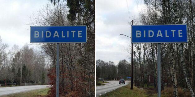 Borttappad bokstav förbryllar byborna