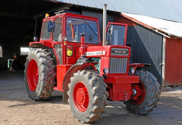 Volvo BM T 814 har blivit en populär traktor hos samlarna. Den här har gått både som lantbrukstraktor och hobbytraktor hos samma ägare.