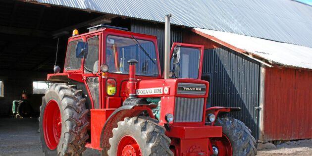 Jordbrukstraktorn som blev samlarobjekt