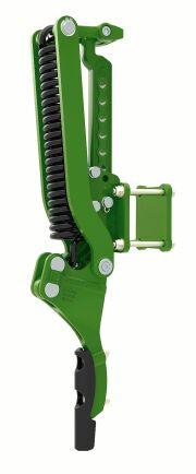 Som alternativ kan tilläggsramen även utrustas med spårluckrare.