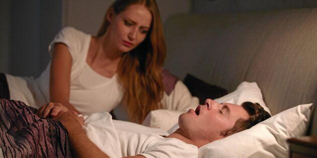 Sömnapné – folksjukdomen som stör sömnen utan att du märker det