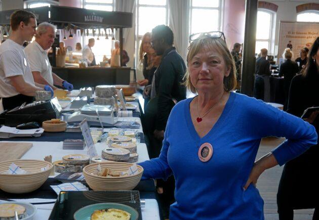 Kerstin Jurss, Sveriges gårdsmejerister. Från Ostfestivalen 2020