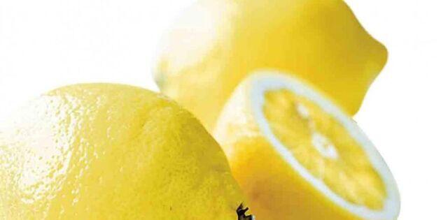 Städa med mat – citron fixar utemöblerna