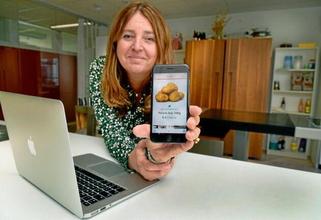Karin Jelkeby, verksamhetsansvarig vid Mat.se.