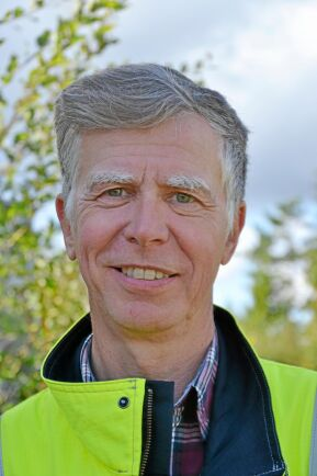 Johan Svensson, skoglig underhållsingenjör på Eon.