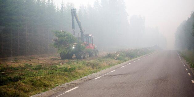 Bönder från förra branden gör ny hjälteinsats