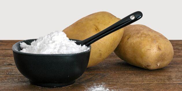 Så gör du eget potatismjöl – av rester, riv och skal!