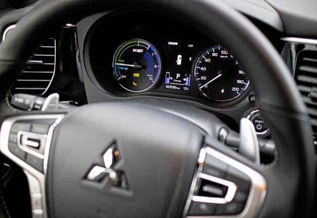 ATL provkör Mitsubishi Outlander PHEV.