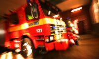 Ladugård brann upp i natt