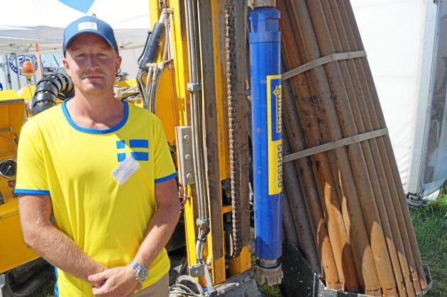Fredrik Olsson, brunnsborrare.