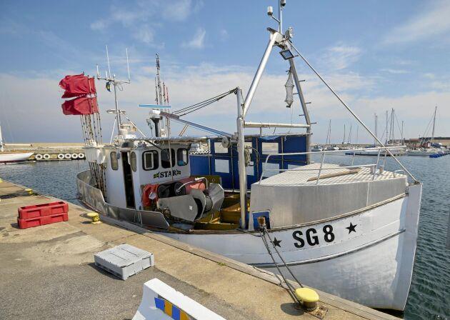Båten Star har ersatt den utbrunna båten Kingston, och används till fiske av torsk och piggvar.