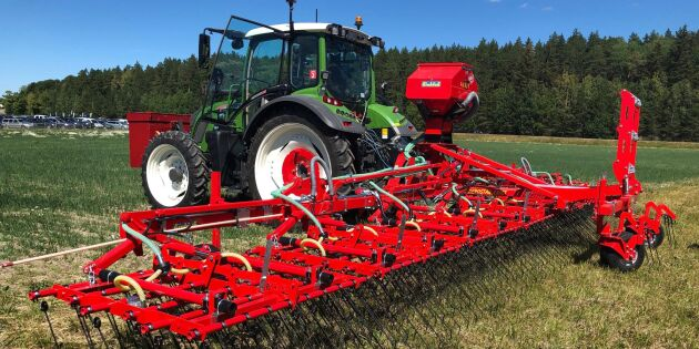 Mekanisk ogräsbekämpning i fokus på Brunnby