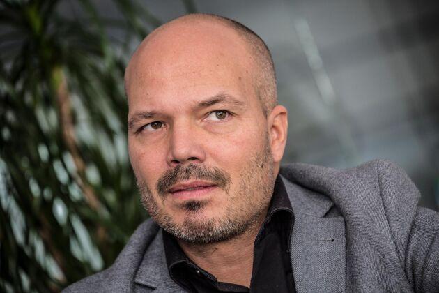 Patrik Torstensson är grossistchef på Svensk Cater.