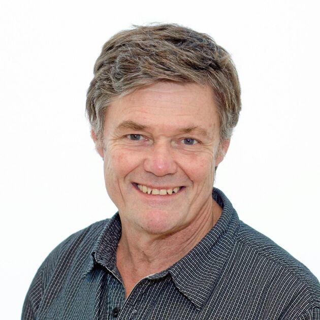 Rolf Spörndly, vid SLU, har forskat på ensilage och hållbarhet i olika lagringssystem.