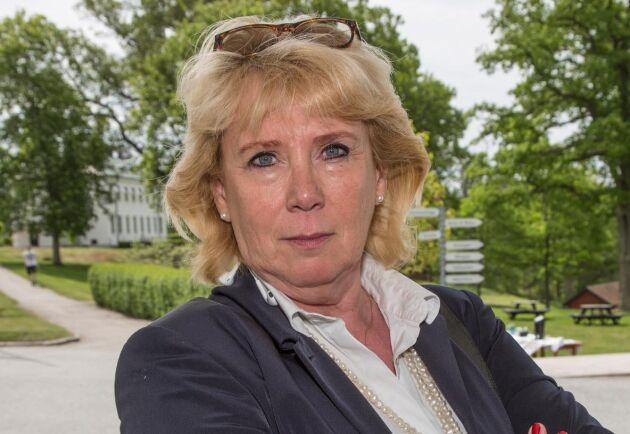 """""""Det är uppenbart att Kammarrätten inte satt sig in i den enskilde markägarens situation, säger Lena Ek."""