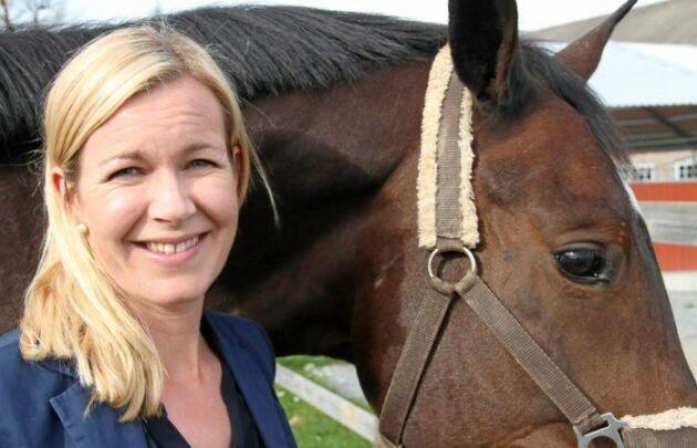 Sara Westholm, Hästnäringens Nationella Stiftelse.