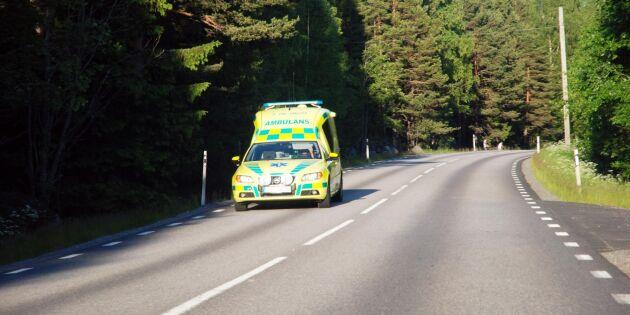 Ökade väntetider på ambulans – störst ökning i Sorsele