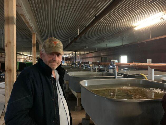 Restaurangerna uppskattar bland annat den odlade fisken på grund av leveranssäkerheten. Eftersom det aldrig stormar inne i ladan vet restaurangerna att de alltid får fram fisken i tid, och då kan de också ha den på menyn, berättar Per Eke-Göransson.