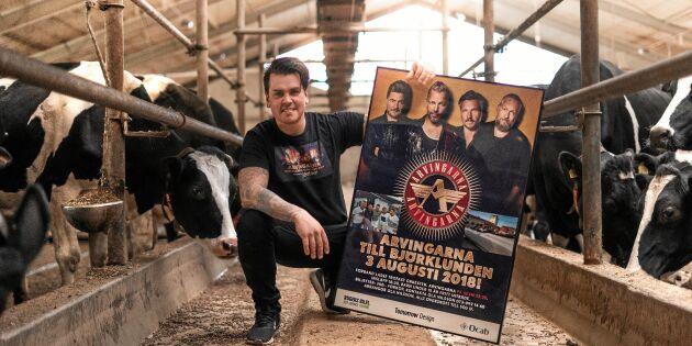 Mjölkbonden Ola vill visa Ölands storhet - med hjälp av Arvingarna