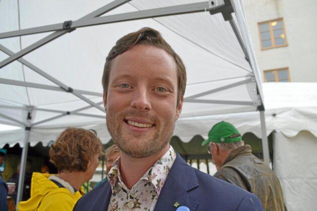 Simon Wancke, LRF Ungdomen, tar plats i styrelsen för EUs unga lantbrukare, CEJA.