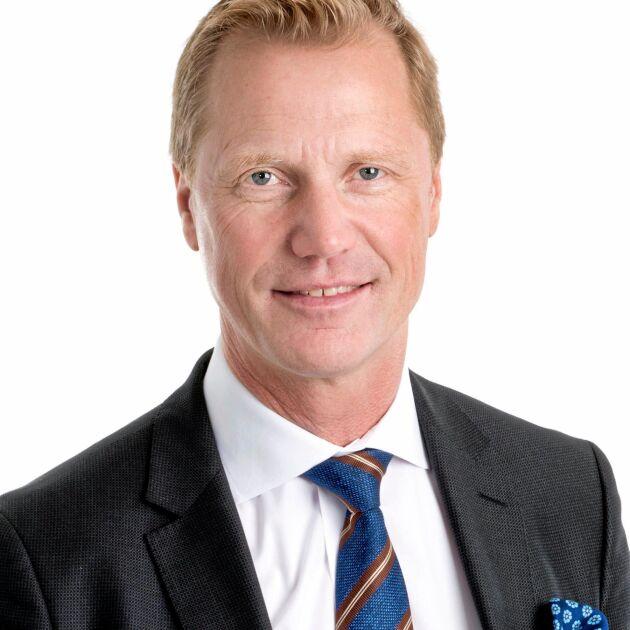 Henrik Sjölund, VD och koncernchef för Holmen.