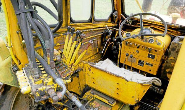 Förarkomfort i en SM 460 Lill-Nalle från 1973.