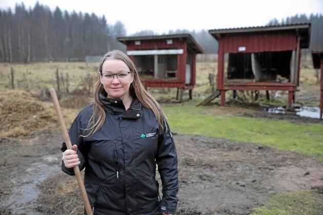 Det har i år har handlat mycket om djurrättsaktivister inom lantbruket. Många lantbrukare har känt en stor oro för att bli drabbade, likt Malin Sundmark.