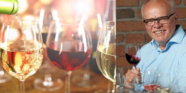 Håkan Larsson tipsar: Så tempererar du vinet rätt – 5 enkla knep