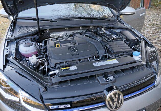 Bilen är utrustad med en fyrcylindrig 1,5-liters turbomotor på 130 hästkrafter.