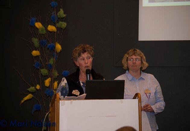 Karin Granström hushållningssällskapet Värmland och Anna Törnfelt, Gotland från Gimrarna.