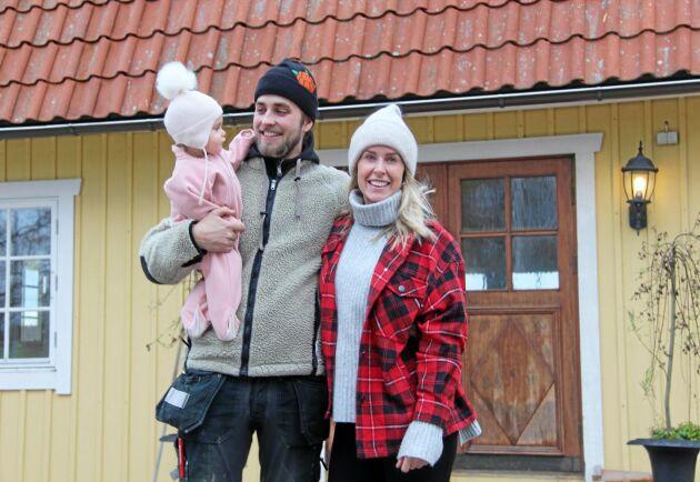 Joacim Rickling och Caroline Kejbert träffades i Bonde söker fru 2017. Dottern Wilda föddes i januari 2019. I samband med programmet gick han från 1500 till 70 000 följare på Instagram.