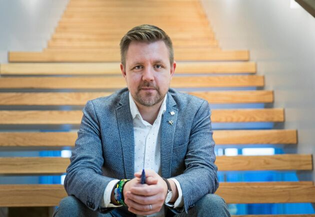Fredrick Federley (C), kandidat till EU-parlamentet.