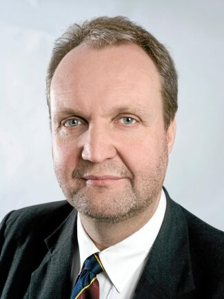 Lantmännens spannmålschef Mikael Jeppsson.