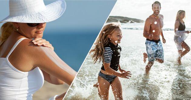 I Sverige kan du leta efter Svanenmärkta produkter. Ett Svanenmärkt solskydd uppfyller strikta krav på miljöskadliga egenskaper hos kemiska ämnen.