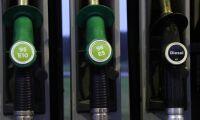 Högre dieselpris på macken