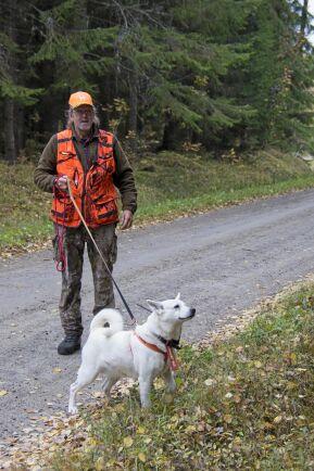 Ett alternativt jaktprov får älghundar är provet för ledhundar som i lina kryssar fram i vinden för att hitta älg.